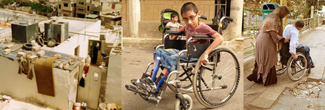 Clínicas Móviles para personas refugiadas con discapacidad en el Líbano