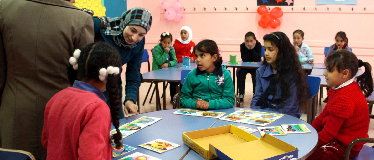 Un colegio de Zarqa (Jordania) inaugura una aula de educación especial