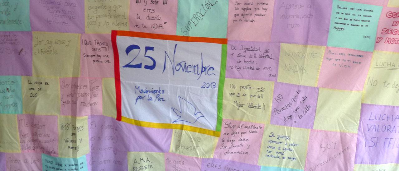 25 Noviembre, Día de la Eliminación de la Violencia contra la Mujer