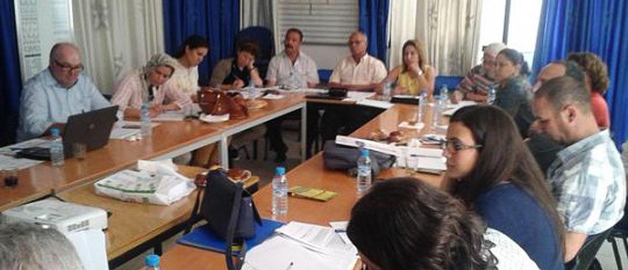 Encuentro de trabajo en Marruecos con Oxfam Intermón y Espace Associatif
