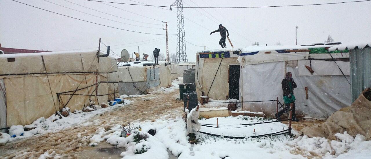 Refugiados sirios en Líbano: extrema vulnerabilidad en un país al límite de sus capacidades