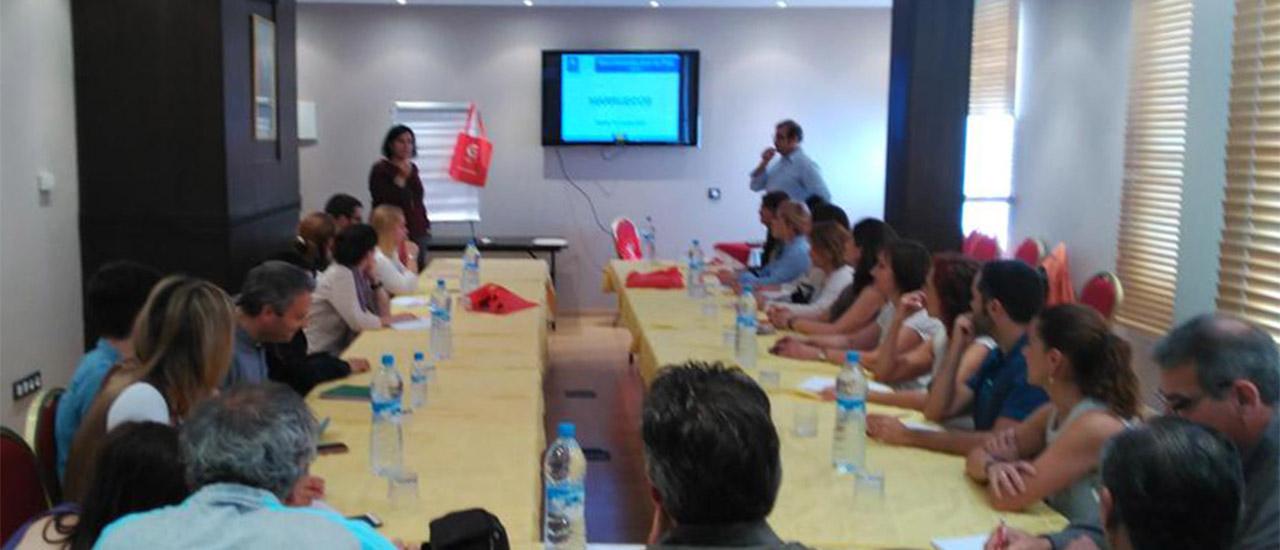 El profesorado ganador del Premio Nacional de Educación para el Desarrollo visitan nuestros proyectos en Marruecos