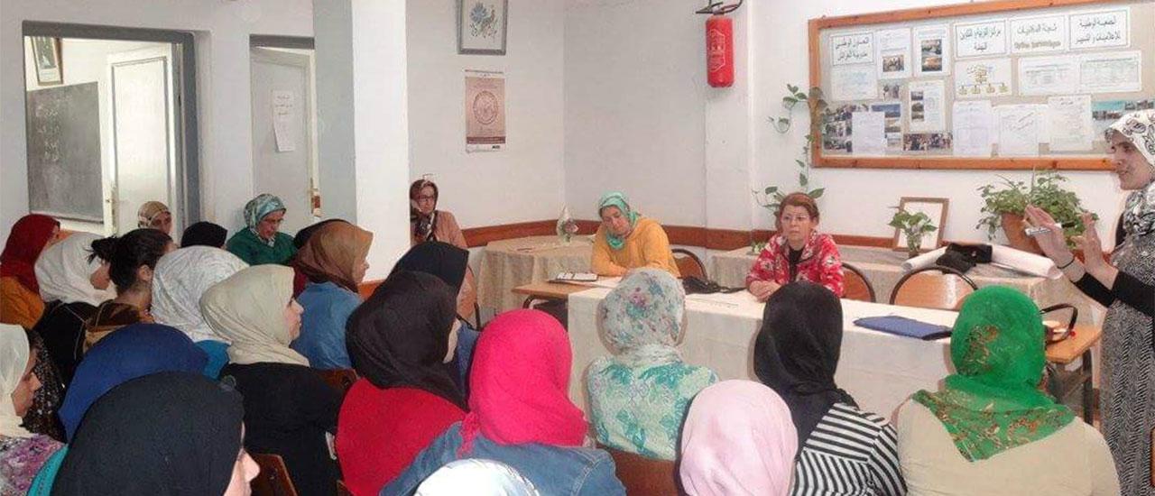 Formaciones sobre igualdad de género en Marruecos