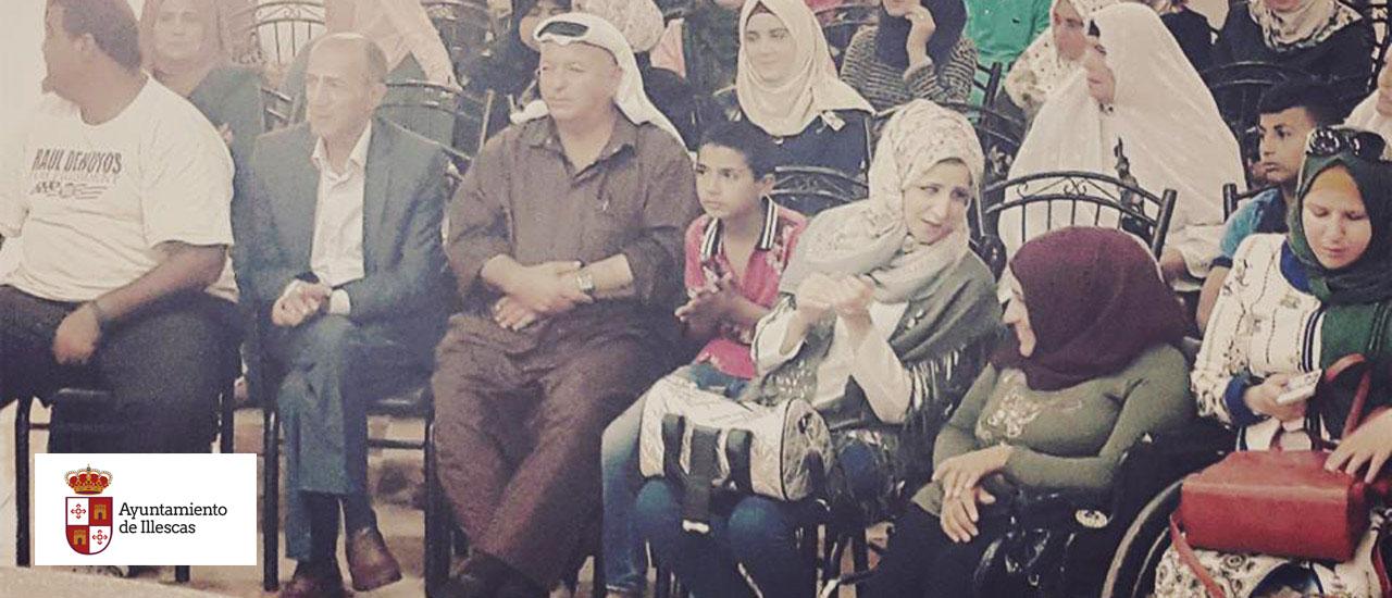 Illescas y el Movimiento por la Paz con las personas con discapacidad en Palestina