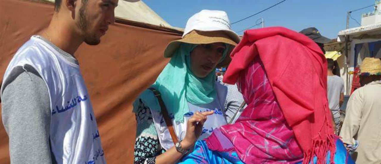 Actividades para promocionar la participación de las mujeres en las elecciones legislativas de 2016 en Marruecos