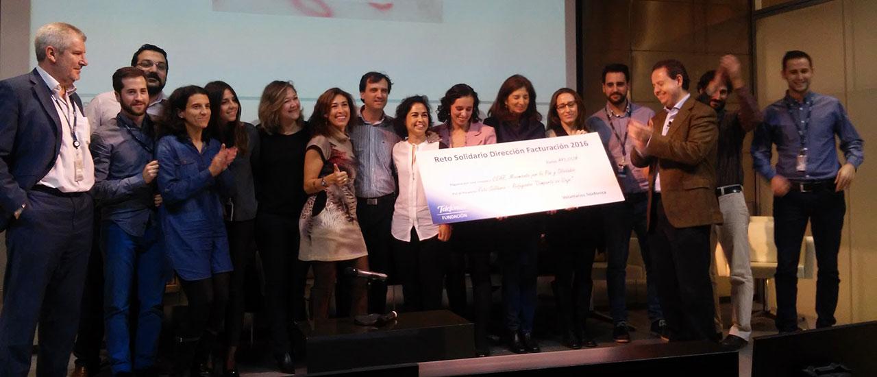 Superado con éxito el Reto Solidario de la Fundación Telefonica