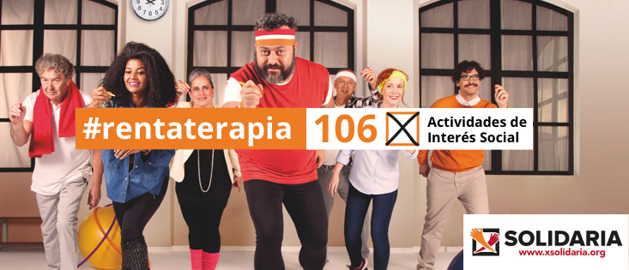 X Solidaria - #Rentaterapia
