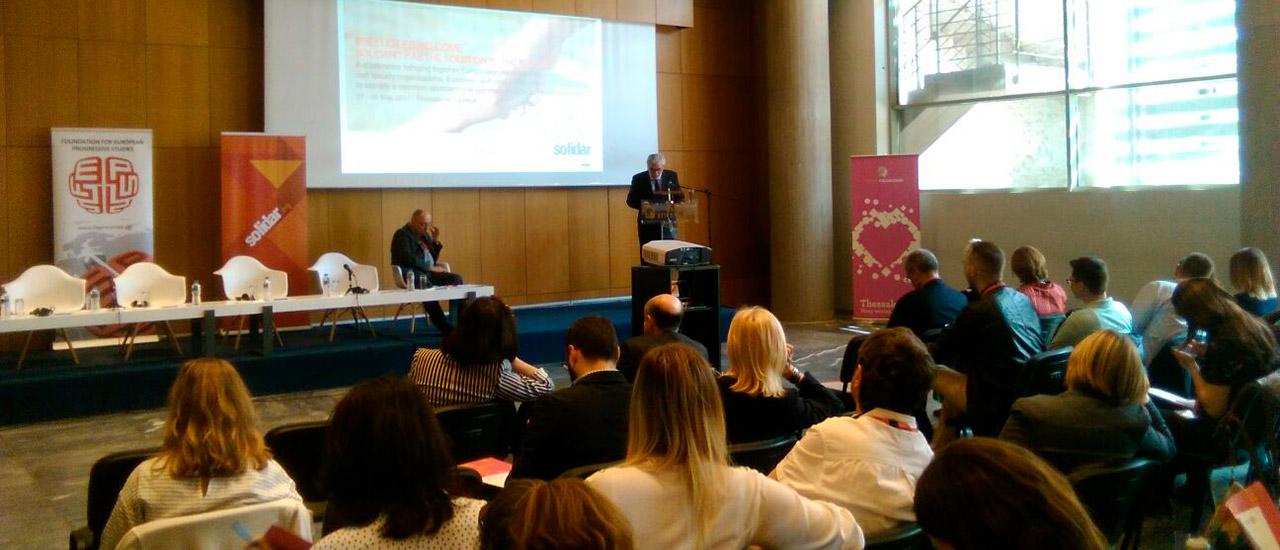 """Conferencia """"#refugeeswelcome - La solidaridad como solución a la crisis de población refugiada"""""""