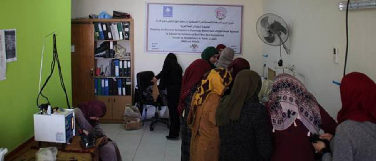 Toledo y el Movimiento por la Paz apoyan el empoderamiento económico de las mujeres palestinas