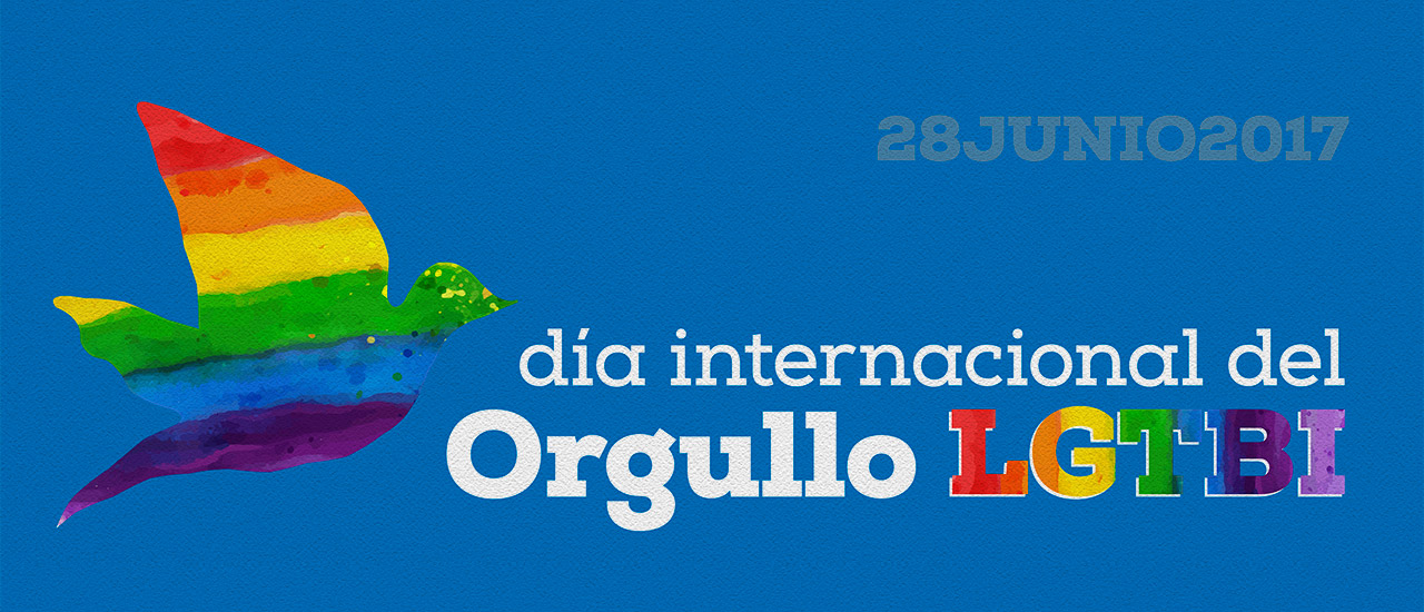 Día Internacional del Orgullo LGTBI: No habrá paz si no hay tolerancia y sociedades  libres