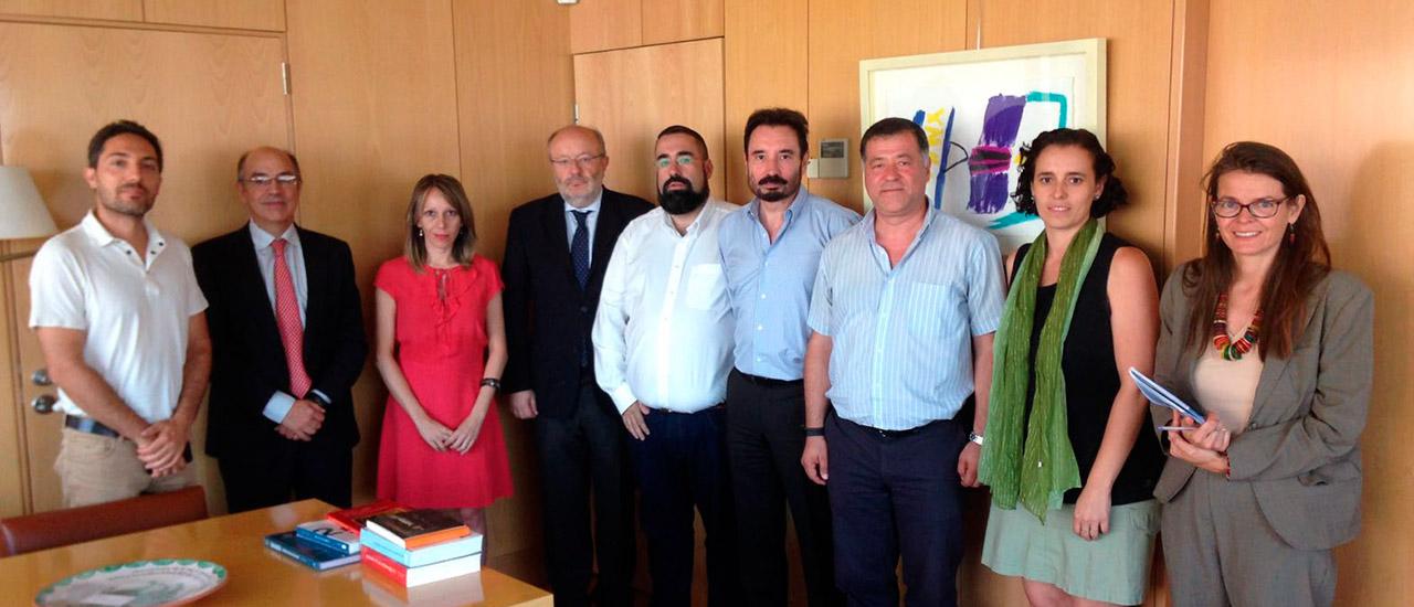La Coordinadora de ONG de Desarrollo se reúne con el Secretario de Estado de Cooperación