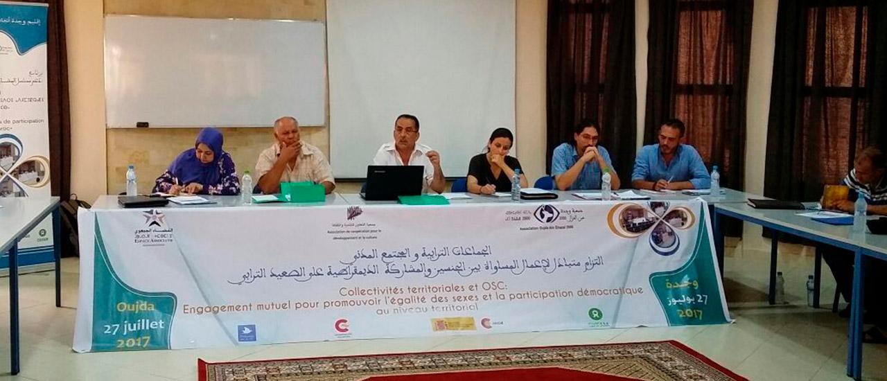 Encuentro con la sociedad civil en Marruecos