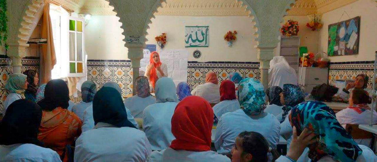 Apoyo en la igualdad de género en Marruecos