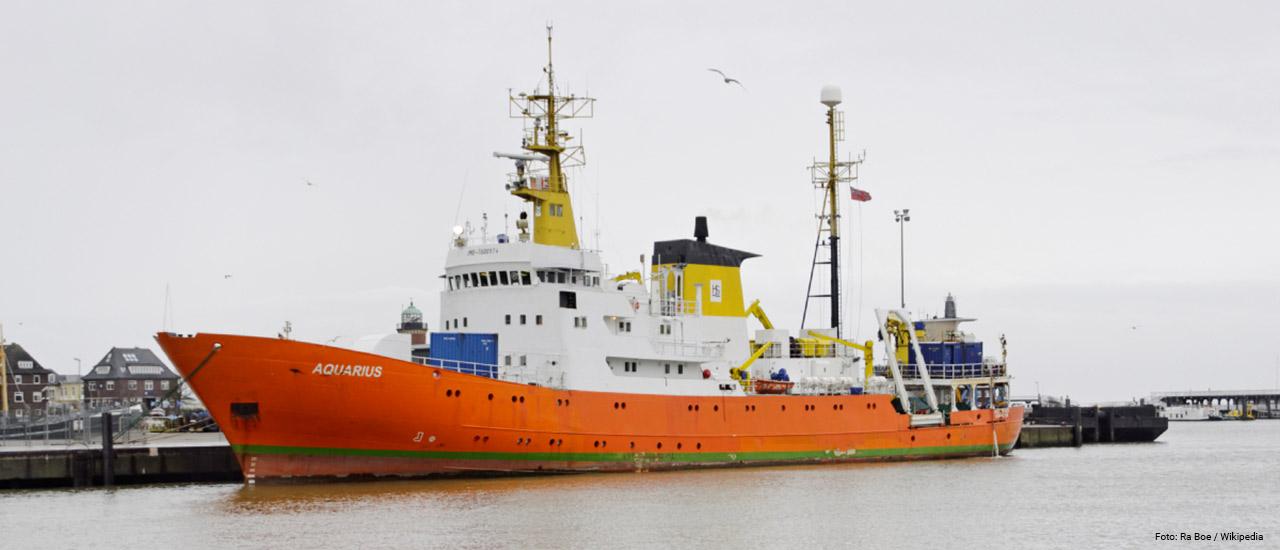 barco aquarius: La Unión Europea debe actuar con urgencia