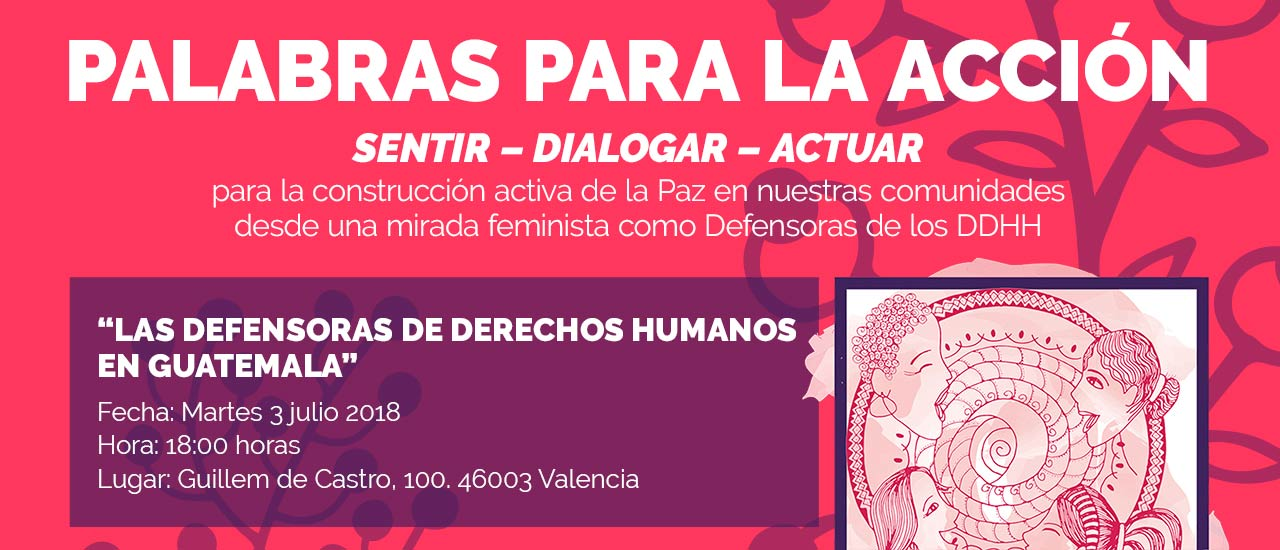 defensoras derechos humanos guatemala