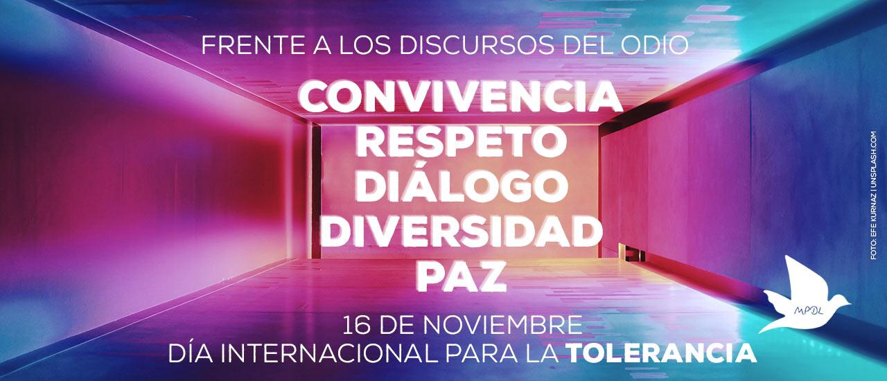 16N Día para la Tolerancia