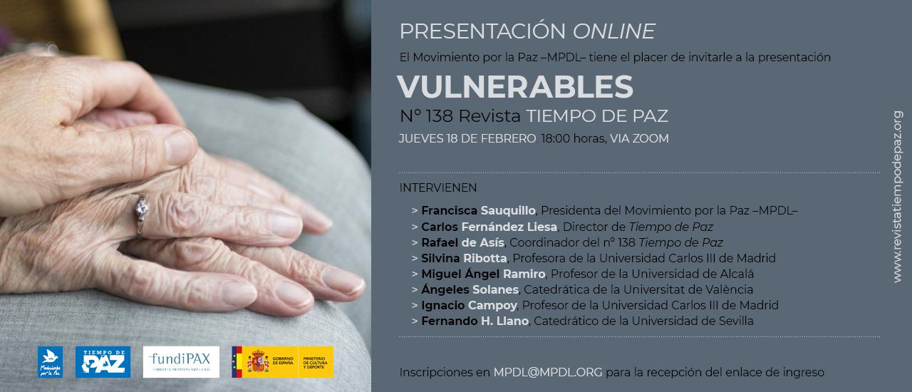 Presentación online: Vulnerables