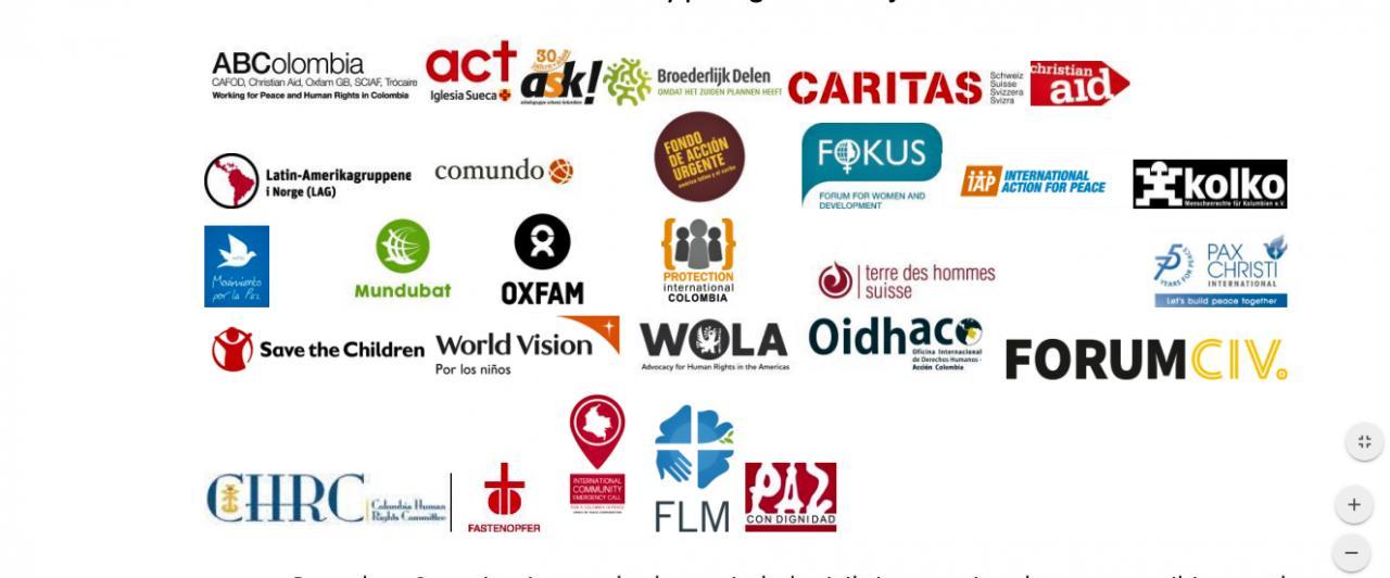 Colombia: organizaciones de la sociedad civil internacional rechazan los reiterados ataques y señalamientos contra la Comisión para el esclarecimiento de la Verdad -CEV e invitan a rodear y proteger su trabajo