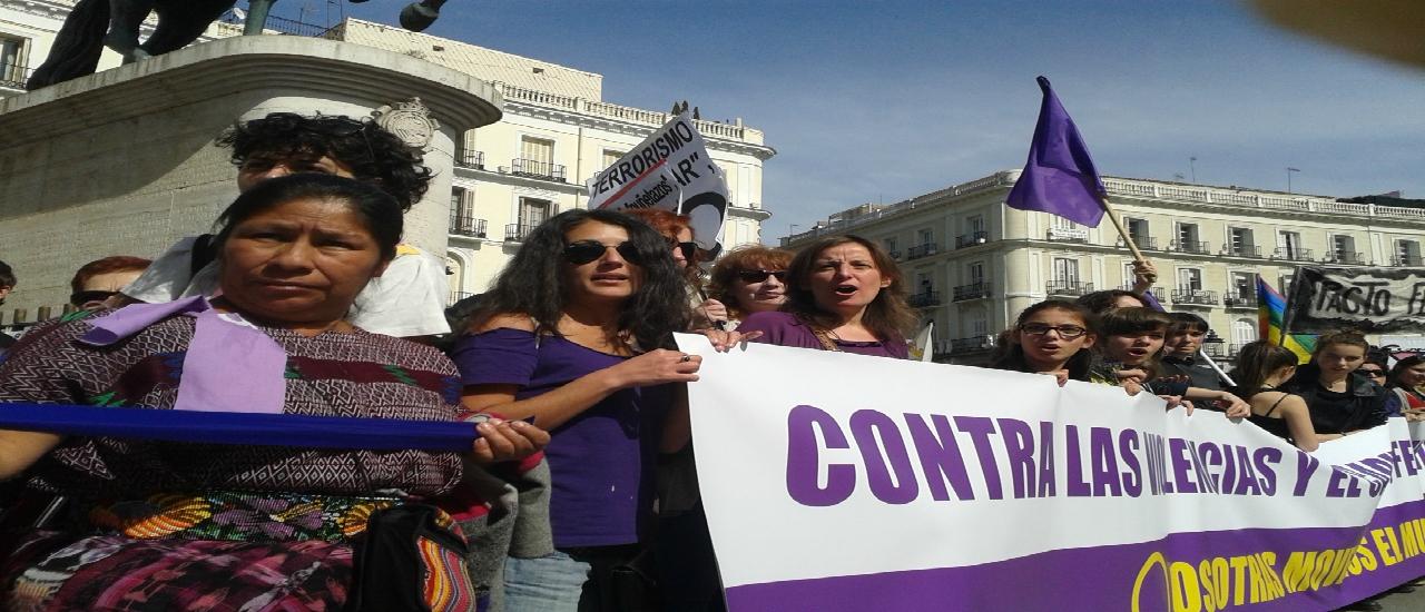 2018: No cesaremos en la construcción de un mundo más justo