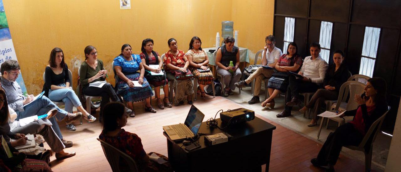 Reunión con la Agencia Española de Cooperación INternacional al Desarrollo (AECID)