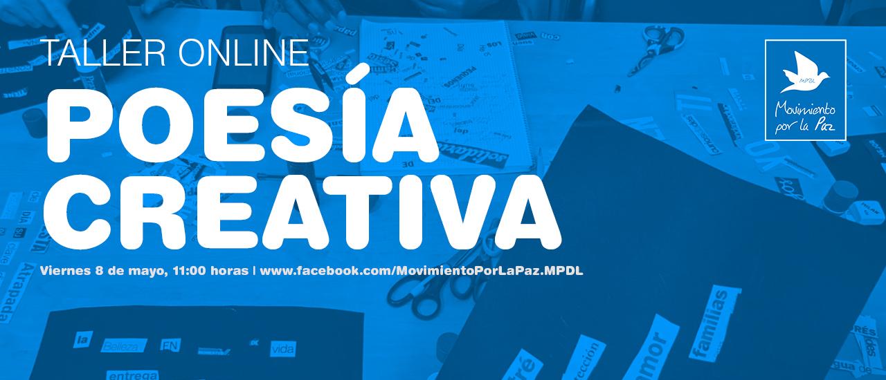 #YoMeQuedoEnCasa: Taller online de poesía creativa