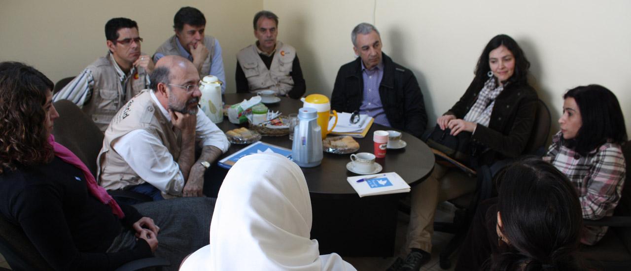 La AECID visita los proyectos del Movimiento por la Paz en Jordania