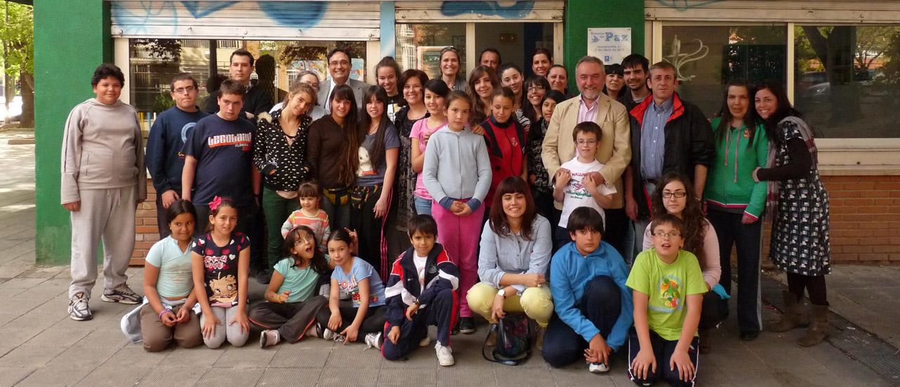 ¡Primer aniversario de nuestra Escuela de Paz!