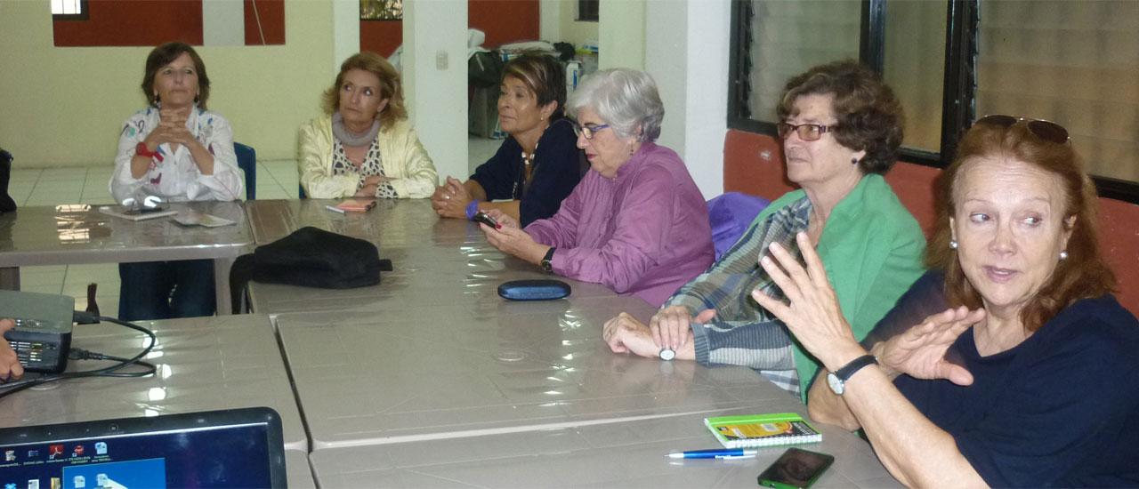 """El Grupo """"Derechos para la Paz"""" del Movimiento por la Paz visita Guatemala"""