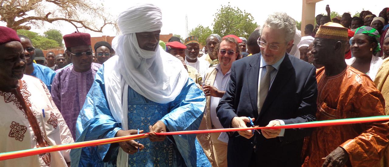 Hoy inauguramos un Centro de Salud Integrado de Mounwadata (Níger)