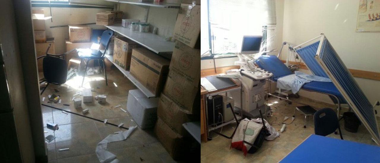 La atención sanitaria en la Franja, un objetivo más de las bombas