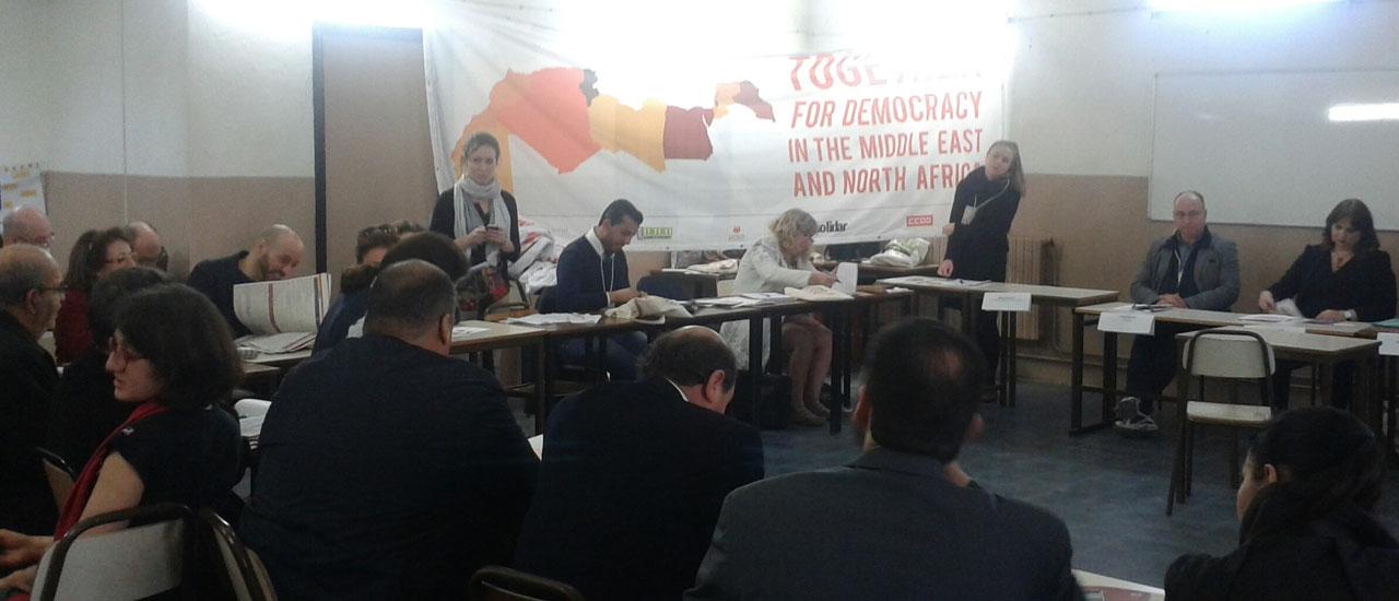 Avanzando en el campo de la justicia social en el Medio Oriente y África del Norte