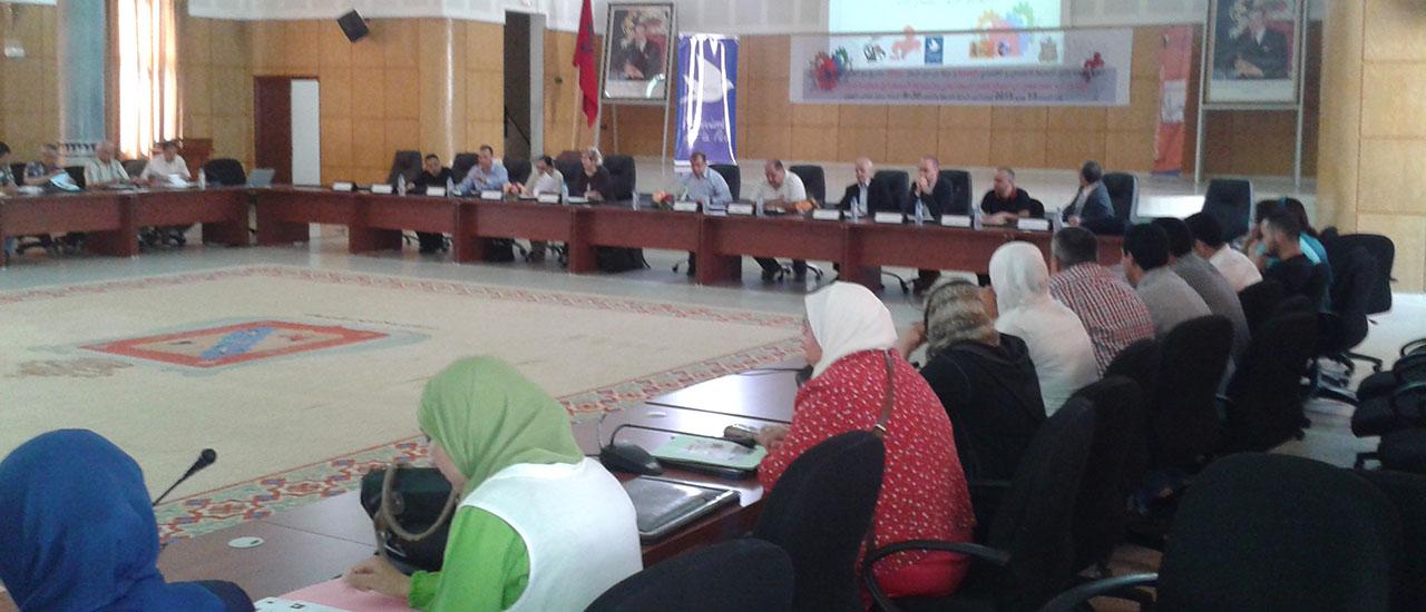 Taller de cierre de proyecto en Marruecos