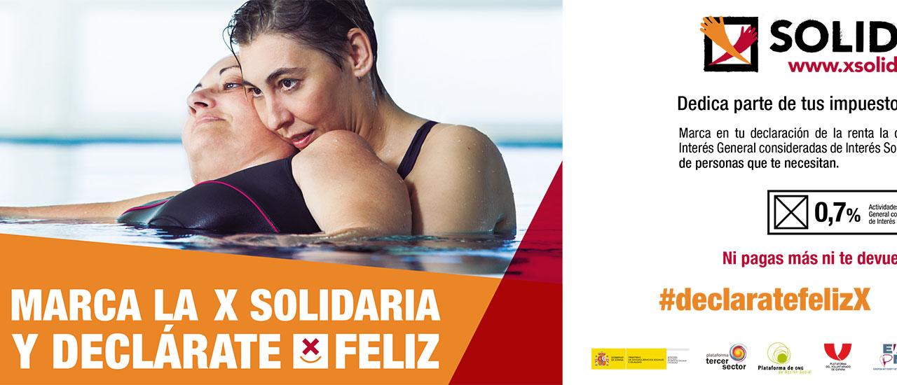 """La """"X Solidaria"""" mejora las vidas de las personas con problemas de adicciones y sus familias"""