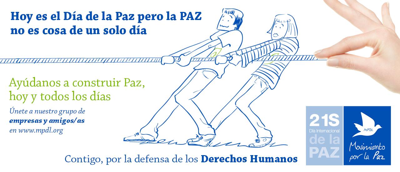 21 de septiembre, Día Internacional de la Paz
