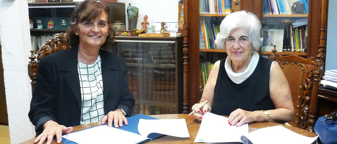 Firmamos un convenio de colaboración con la Universidad Camilo José Cela