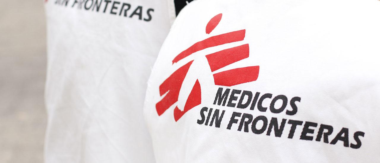 Todo nuestro apoyo para Médicos Sin Fronteras