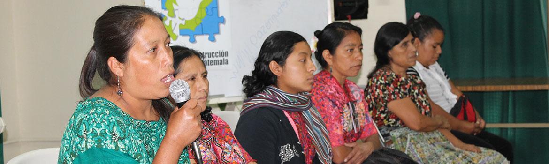 Guatemala - Líneas de trabajo