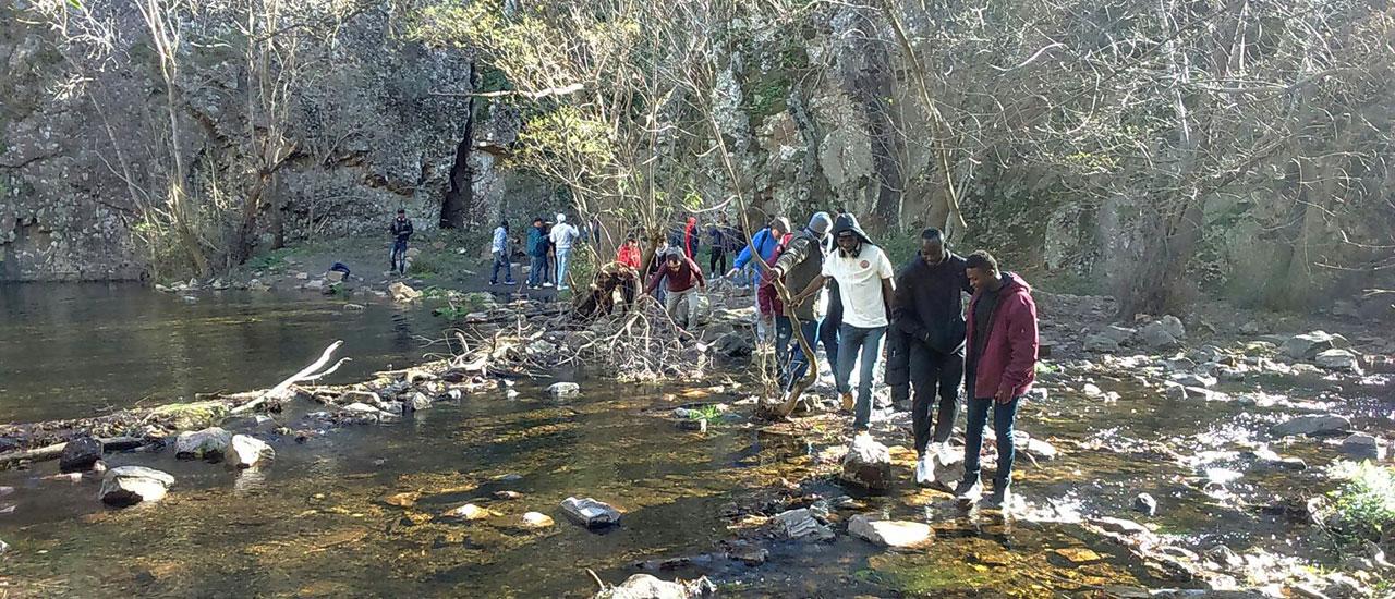 De excursión por San Agustín de Guadalix por la inclusión social