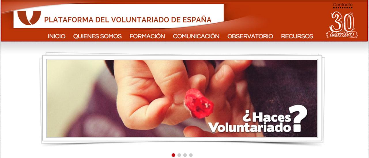 La Plataforma del Voluntariado de España cumple 30 años