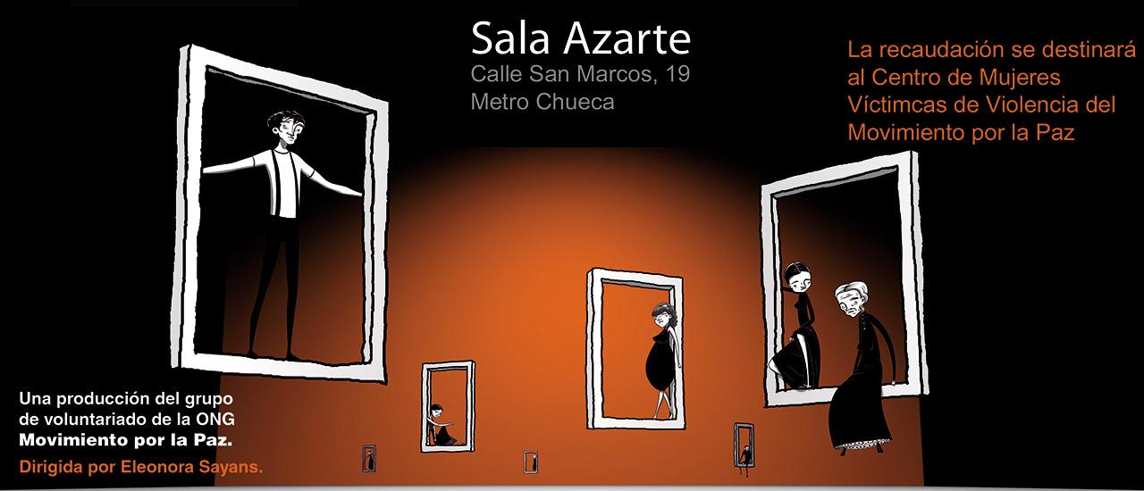 Ven a disfrutar con la obra El Descuadre, del grupo de teatro social de Movimiento por la Paz