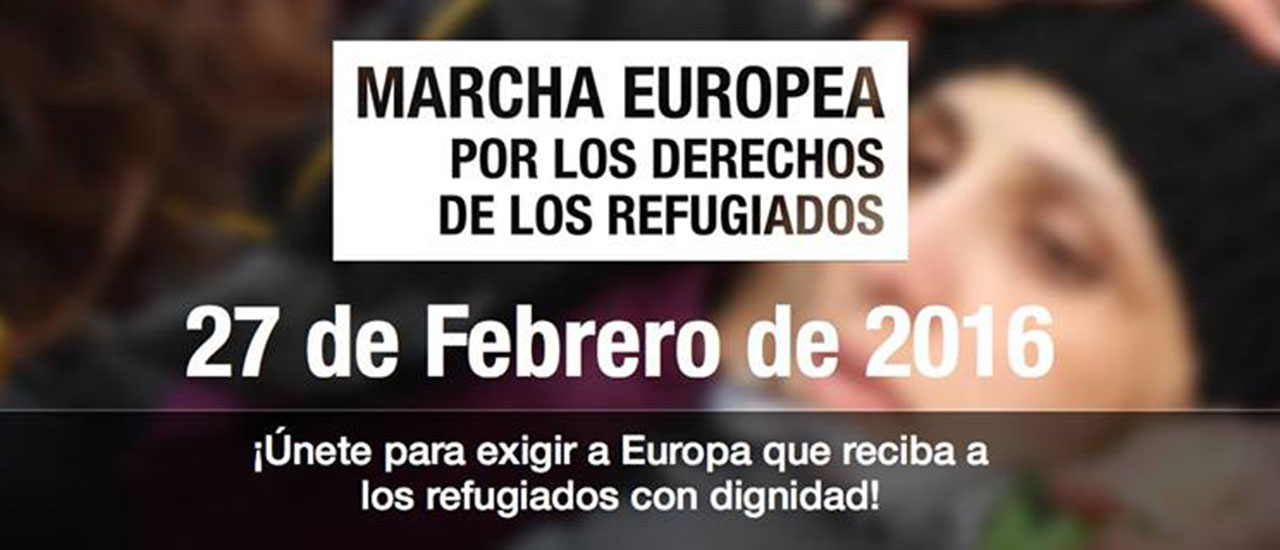 Nos unimos a las movilizaciones por los derechos de las personas refugiadas