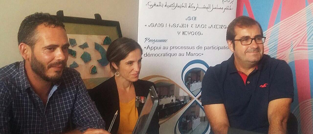Realización de una misión de trabajo conjunto en Oujda (Marruecos)