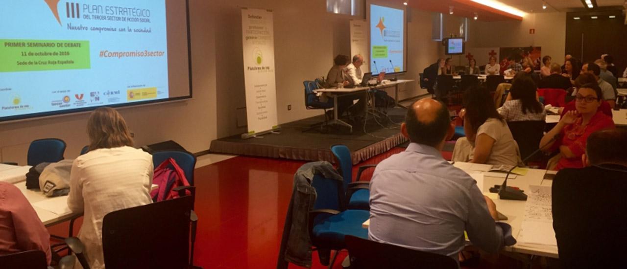 Las ONG analizan sus prioridades de actuación para los próximos cuatro años en Madrid