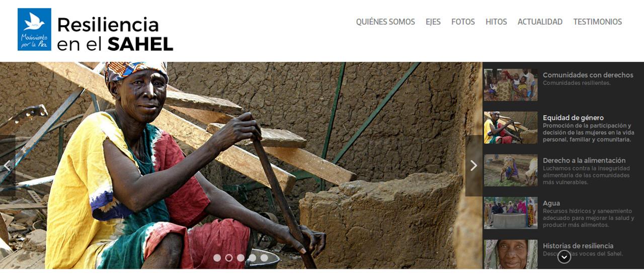 Lanzamos nuestra web Resiliencia en el Sahel