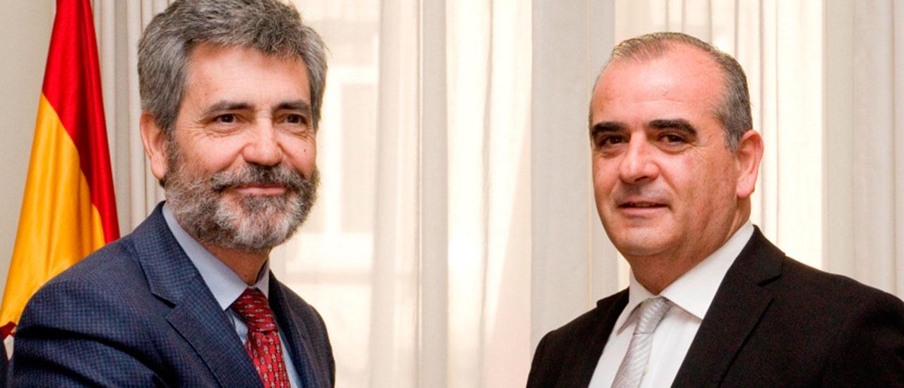 """El CGPJ y la Plataforma del Tercer Sector firman un convenio para """"trasladar la realidad social al Poder Judicial"""""""