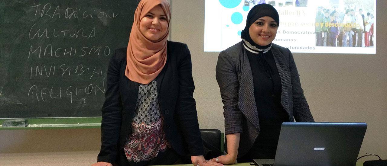 Talleres en institutos sobre Derechos Humanos y Participación Democrática en Marruecos