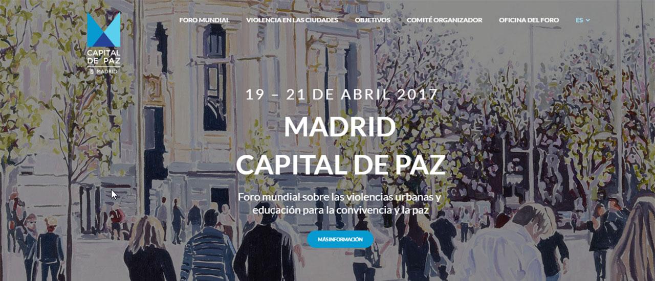 Foro Mundial sobre las Violencias Urbanas y Educación para la Convivencia y la PazForo Mundial sobre las Violencias Urbanas y Educación para la Convivencia y la Paz de Madrid