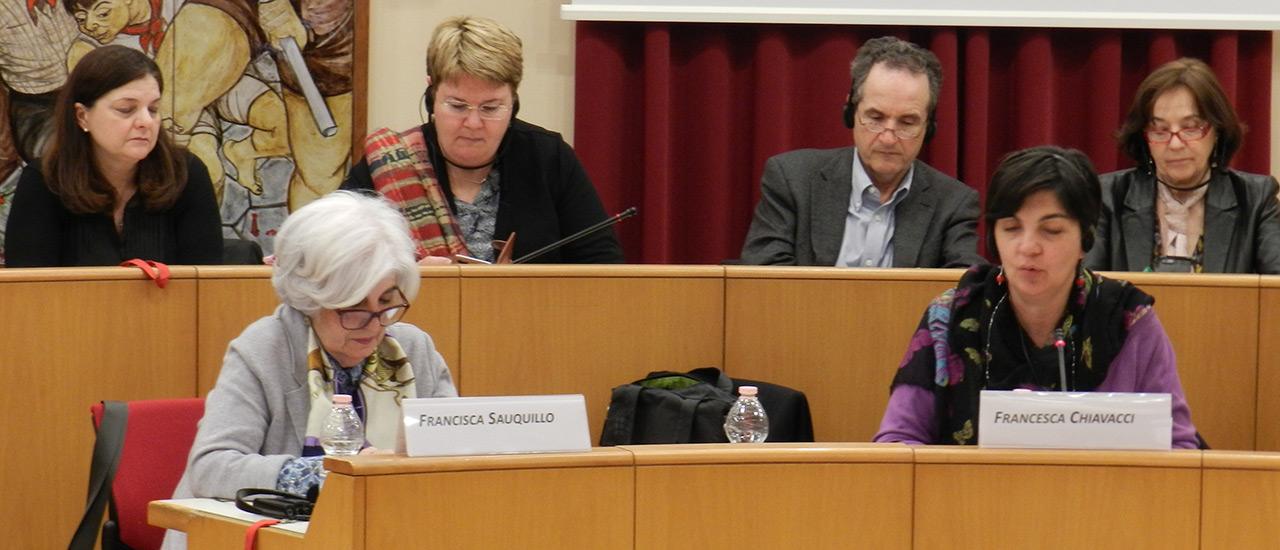 Francisca Sauquillo participa en la Conferencia 60 Años de Tratados de Roma: ¿Qué queda de la promesa de la Europa Social?