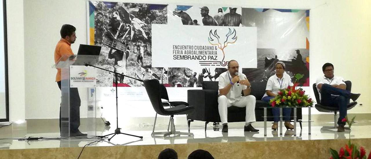 Encuentro Ciudadano y Feria Agroalimentaria Sembrando Paz en Colombia