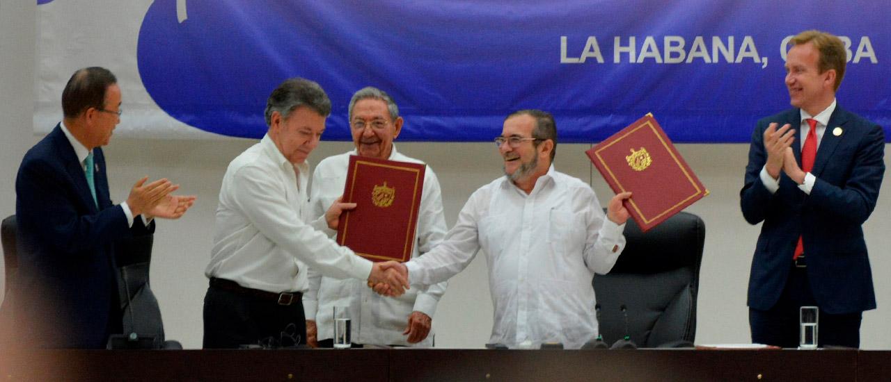 El desarme de las FARC, otro avance en la Construcción de Paz en Colombia